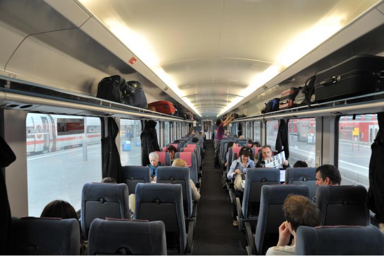 Путешествия в Deutsche Bahn во время карантина фото