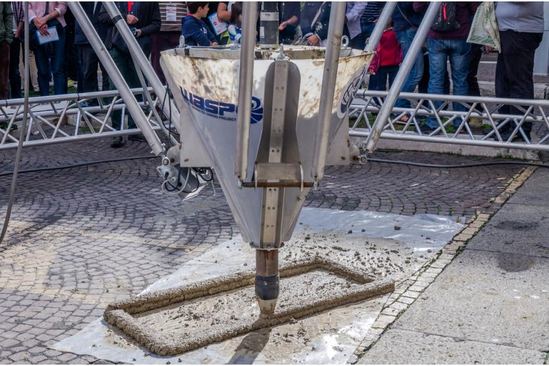 строительство с помощью 3D-принтера фото