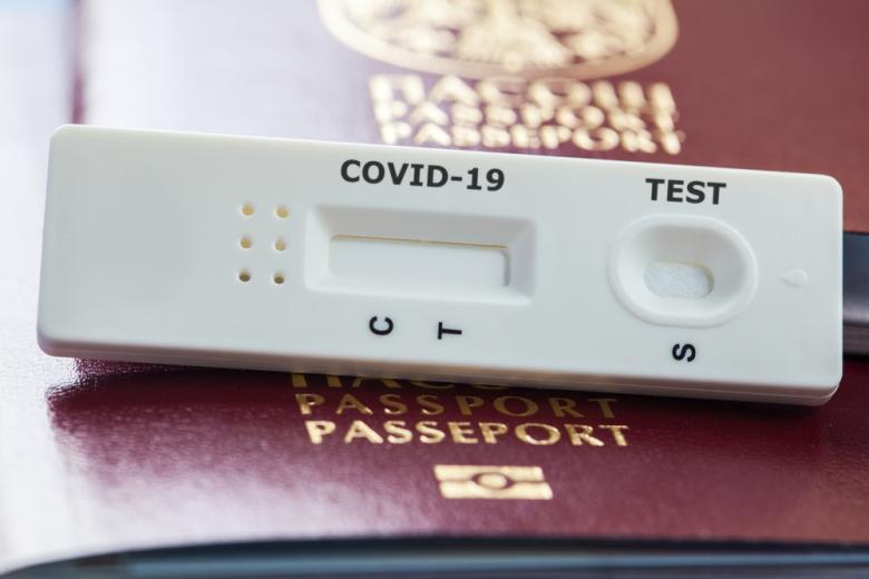 тест на COVID и загранпаспорт