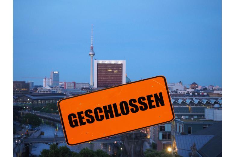 Берлин на карантине из-за COVID фото