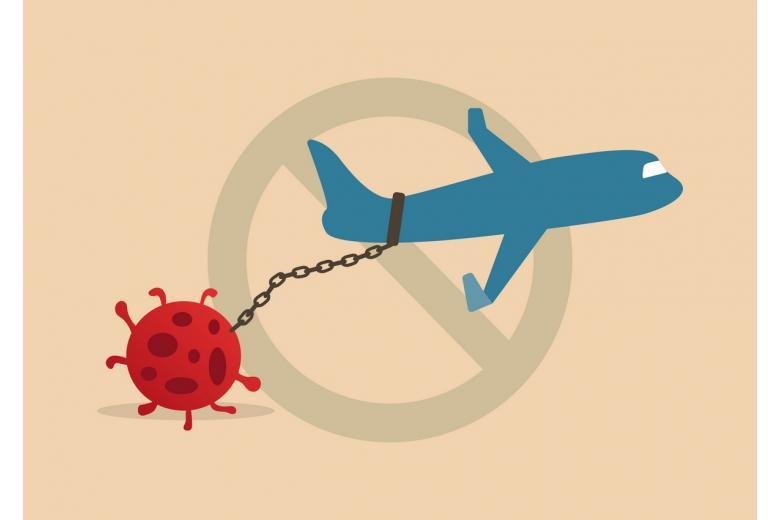 Коронавирус снова закрывает авиаперелеты на неопределенное время фото