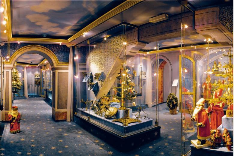 Музей Рождества проработает до конца праздников и закроется до весны фото