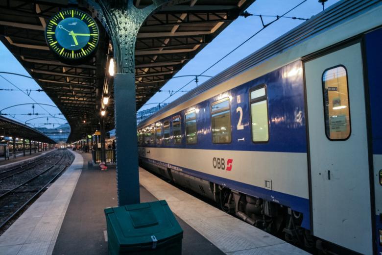 Ночной поезд соединит Германию с самыми крупными столицами Европы фото