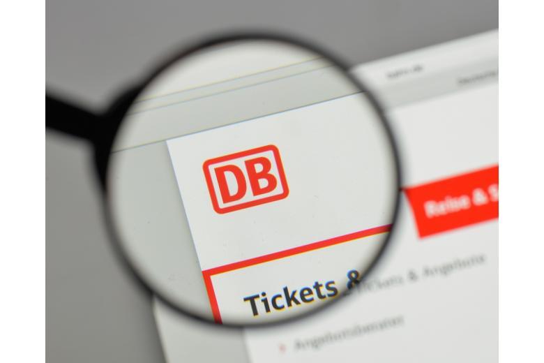 сайт компании Deutsche Bahn фото