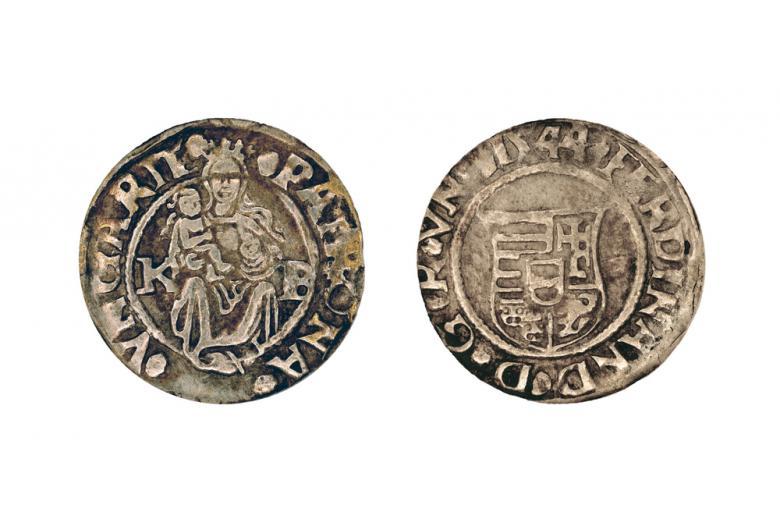старинная монета фото