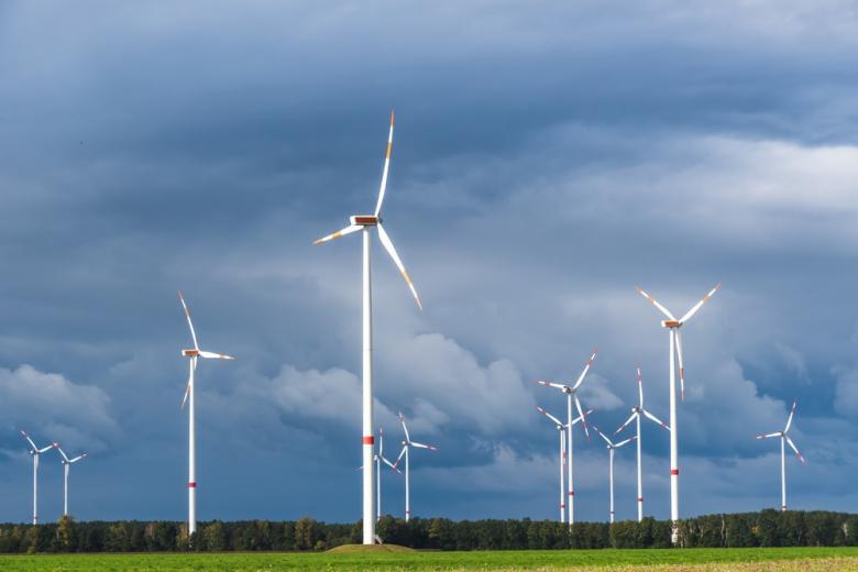 ветряная электростанция фото