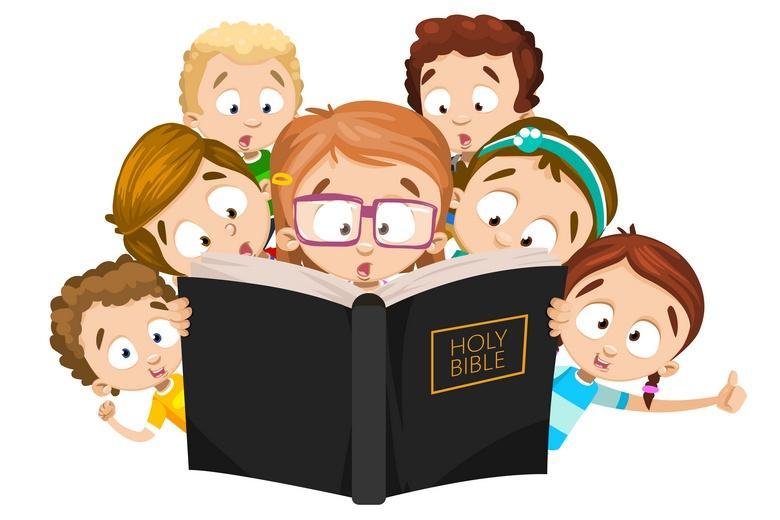 Базовая Библия написана простым языком и рассказывает обо всем доступными образами фото