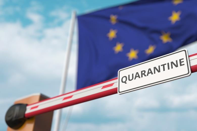 Границы в странах ЕС временно закрываются из-за роста заболевания на коронавирус фото
