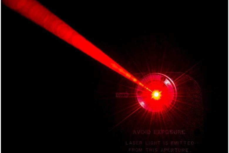 лазерный луч фото