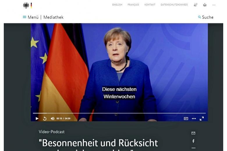Меркель обратилась к немцам с важной информацией о коронавирусной пандемии в первые дни 2021 года фото
