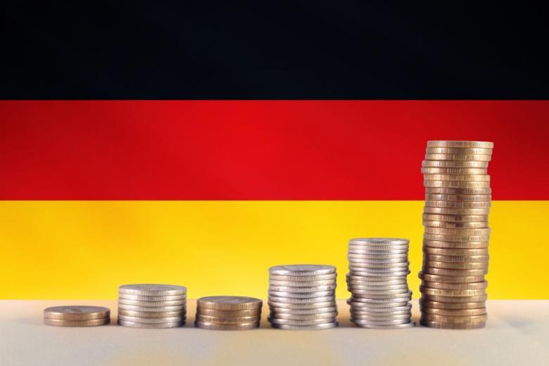 монеты в Германии фото