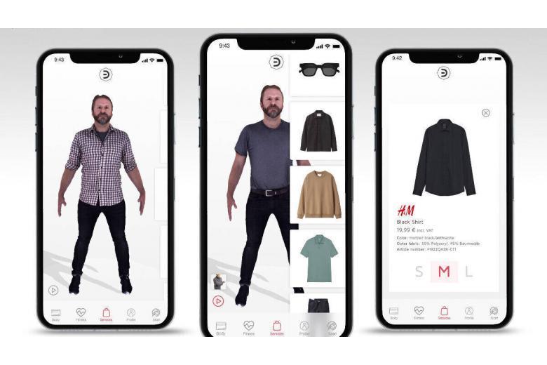 приложение цифровая примерочная от h&m фото приложение цифровая примерочная от h&m фото