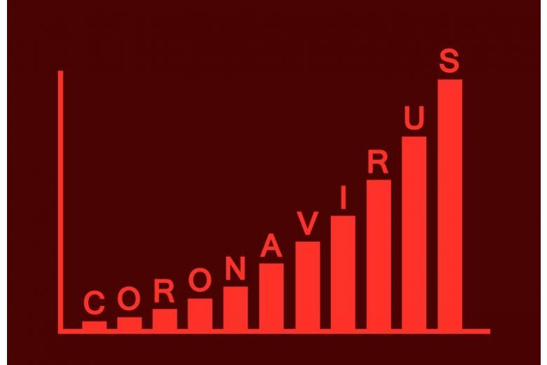 Возрастающий вектор коронавируса фото