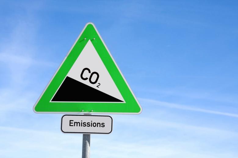 знак загрязнение CO2 фото