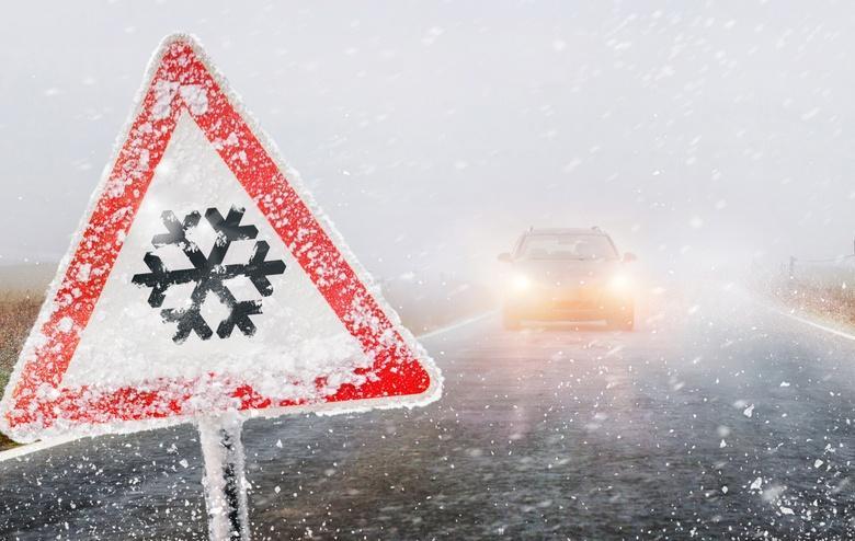 Гололед на дорогах придет после сильніх морозов с понедельника фото