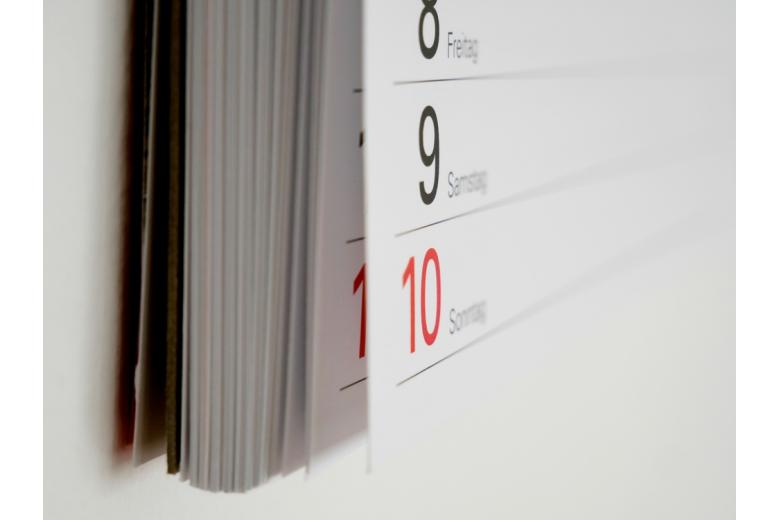 немецкий настенный календарь фото