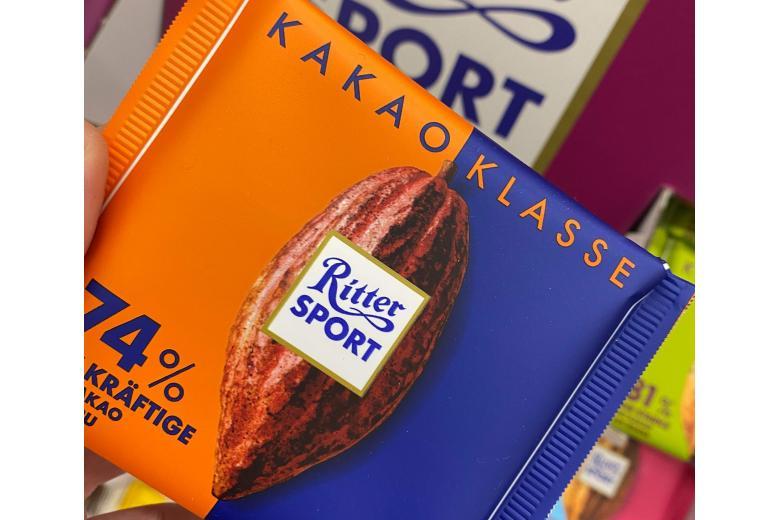 шоколад ritter sport какао 75 процента фото