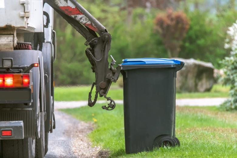 электрический мусоровоз тестируют фото