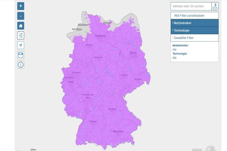 Карта 5G в Германии фото