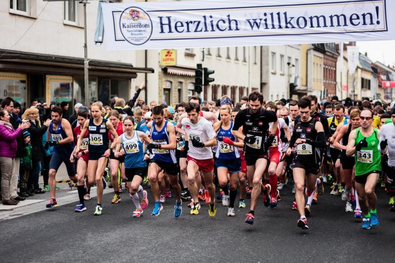 марафон в Бамберге, Бавария фото