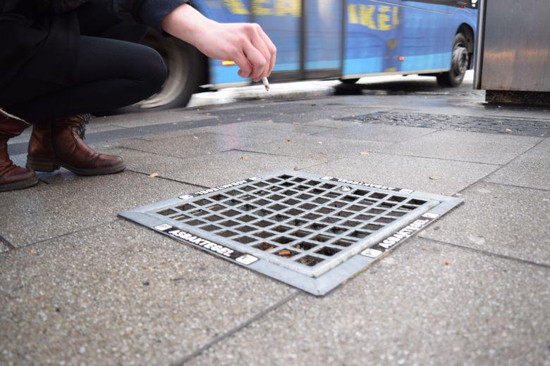 Пепельницы на улице спасают от опасного яда фото