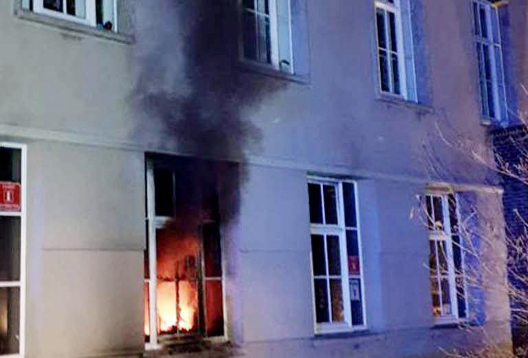 Пожар на первом этаже в ратуше мог превратить мэрию в руины фото