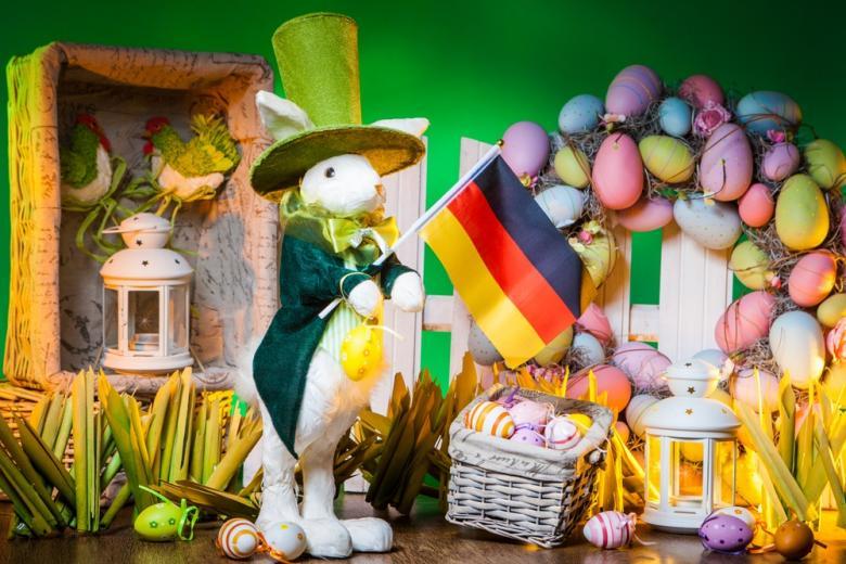 Пасхальные зайцы в Германии
