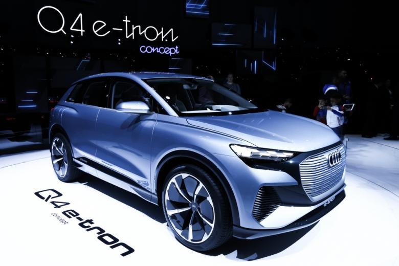 Audi Q4 e-tron запустили