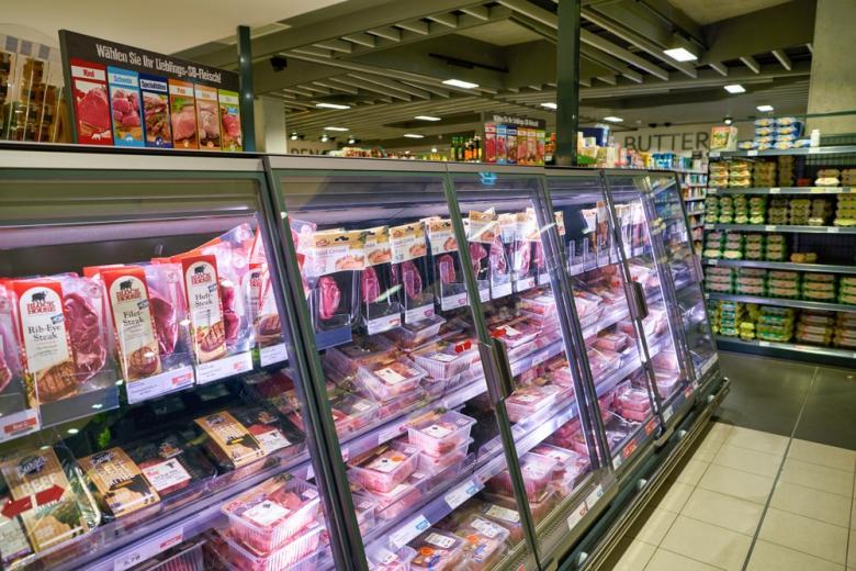 Мясо в дискаунтерах
