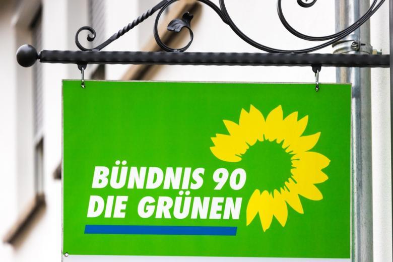 """вывеска партии """"зелёных"""" на доме фото"""