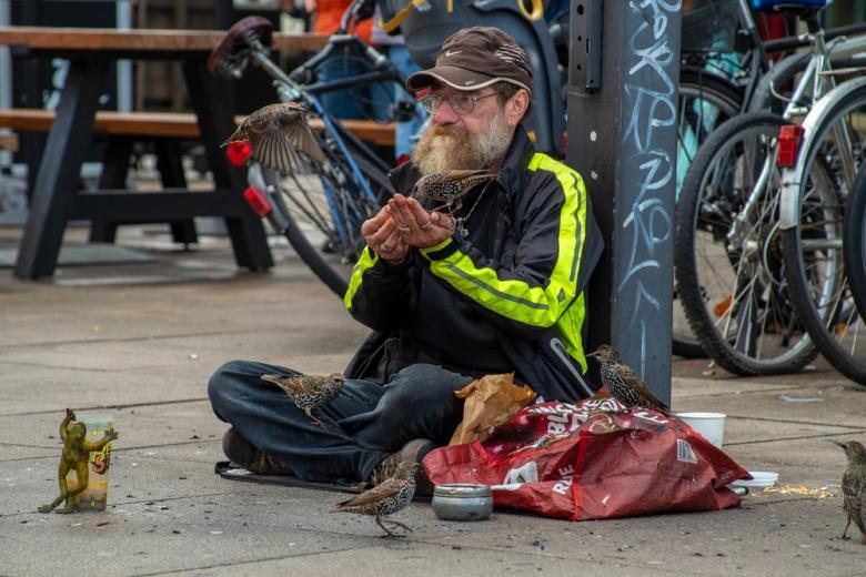 Бездомные в Германии