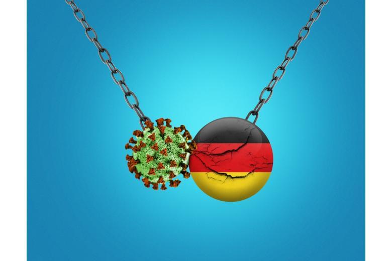 Коэффициент заболеваемости в Германии