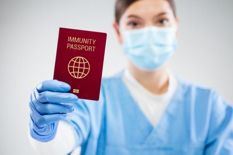 Работа над ковид-паспортами