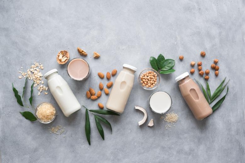 выбор молочных продуктов фото