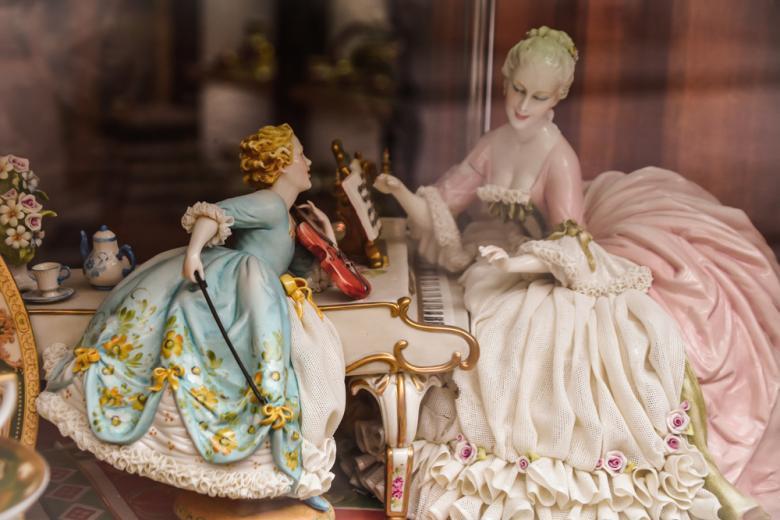 фарфоровая скульптурная группа, Дрезден