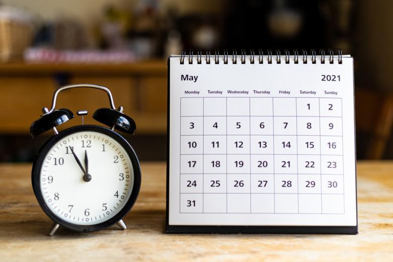 календарь май / Foto: MOZCO Mateusz Szymanski / shutterstock.com