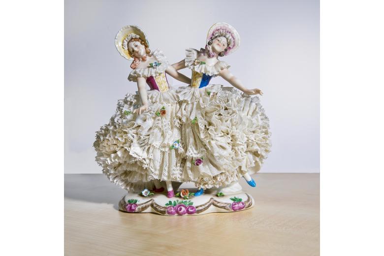 куколки из кружевного фарфора, Дрезден
