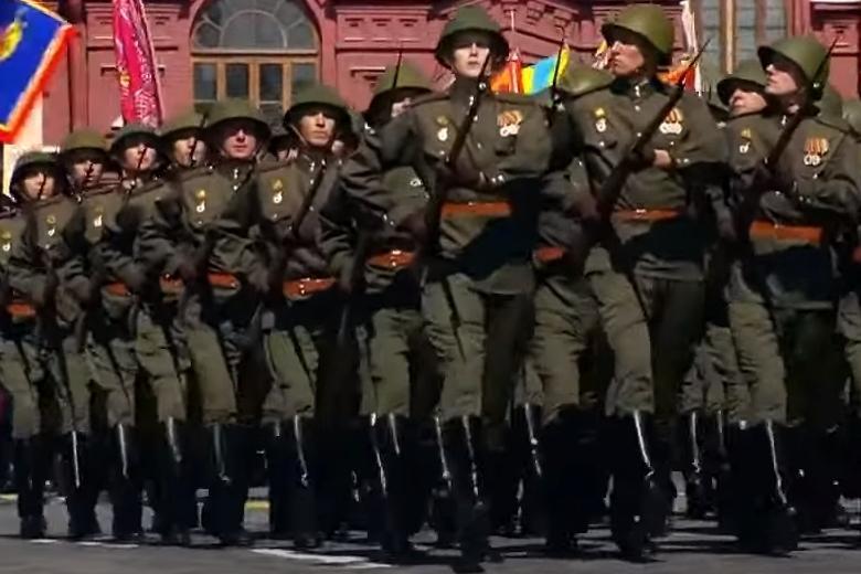 Парад 9 мая в Москве Фото: скриншот с видео ютюб-канала Россия 24 / https://youtu.be/iphD-hWzwfA
