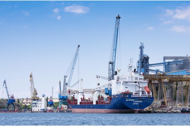 Севастопольский порт, Россия закрыла Чёрное море