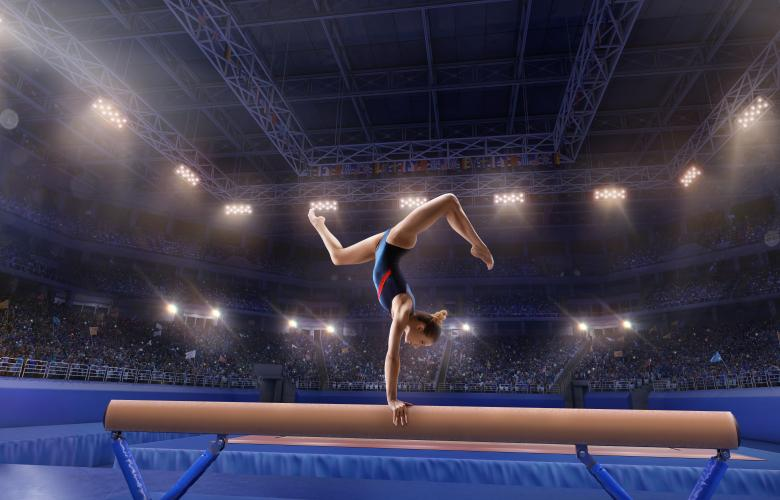 Скандал в гимнастике