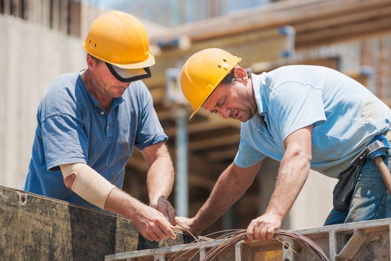 Зарплаты строителей в Германии Фото: Автор: Andreas G. Karelias / shutterstock.com