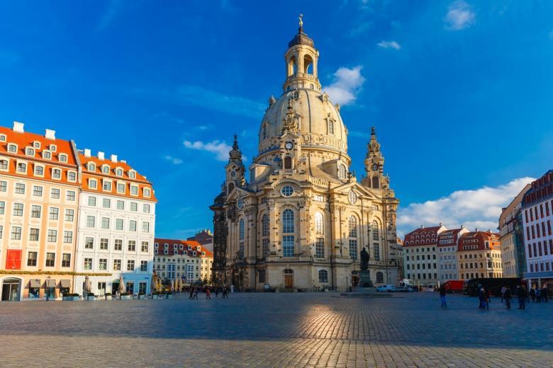 Дрезденский собор (Frauenkirche)