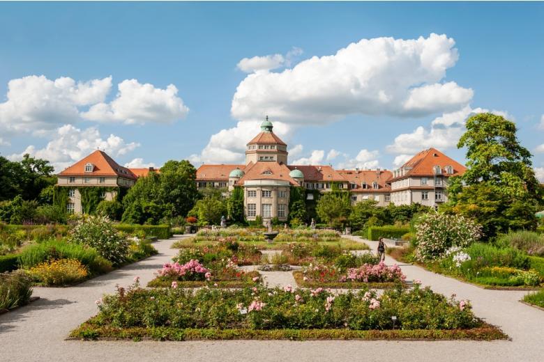 Ботанический сад, Замок Нимфенбург в Мюнхене