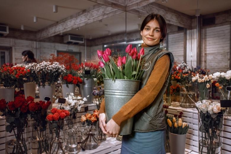 цветочный магазин в День матери в Германии