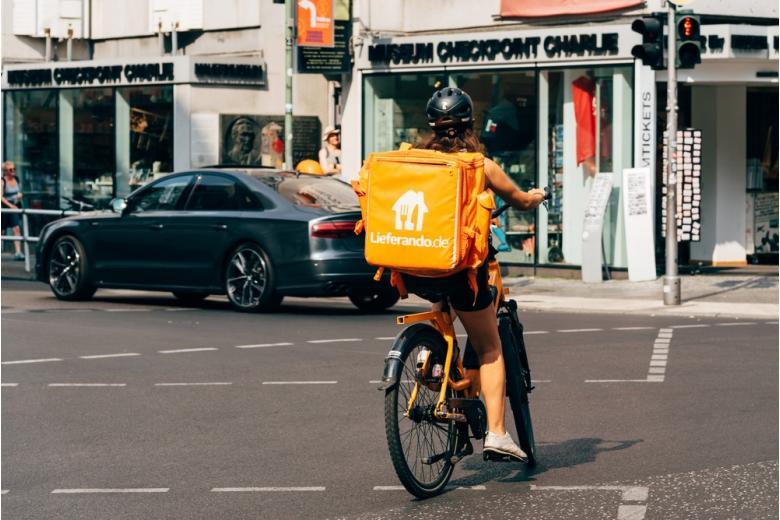 доставка из супермаркетов от Lieferando