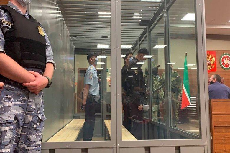 Казанский убийца Фото: Автор: @MBKhMedia / https://twitter.com/MBKhMedia