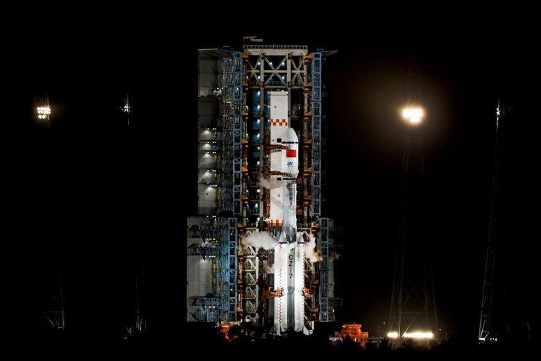 Китайская космическая станция Фото: 天宇·追箭者联盟 / @iBd6S77Ivw72xPk