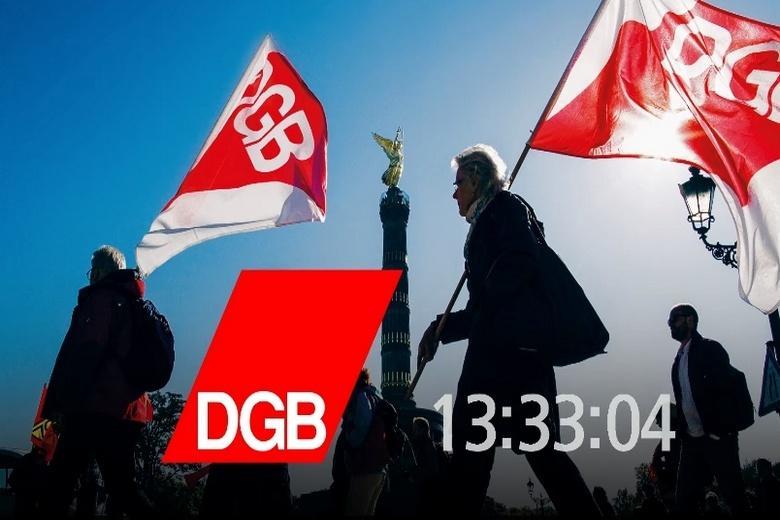 Немецкие профсоюзы Фото: скриншот ютюб-акаунт DGB - Deutscher Gewerkschaftsbund