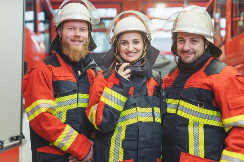 пожарные в Германии / Foto: Kzenon / shutterstock.com