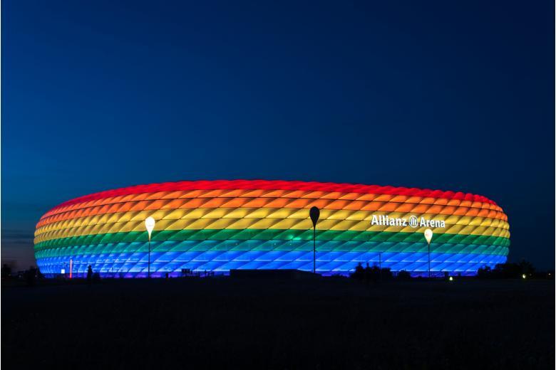 «Альянц Арена» в Мюнхене / Фото: anahtiris / shutterstock.com